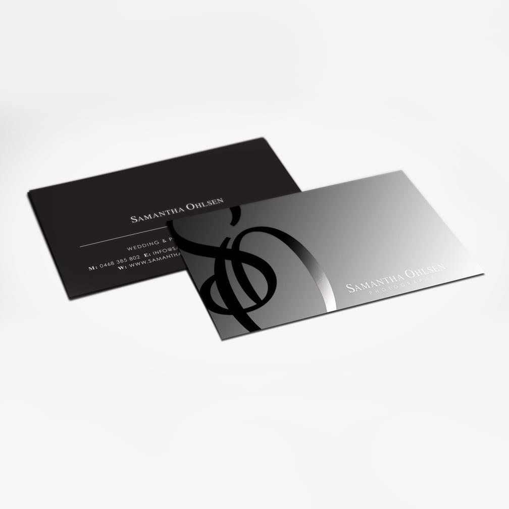 Suede Velvet Spot Uv Business Cards