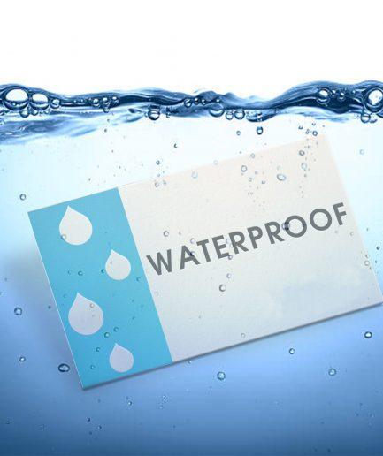 Waterproof Business Cards